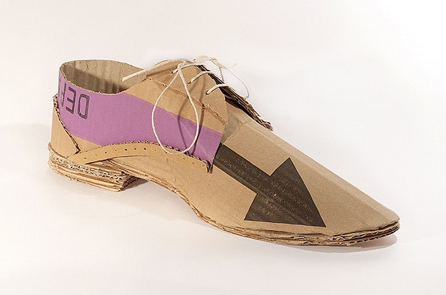 Dress Shoes Made From Cardboard