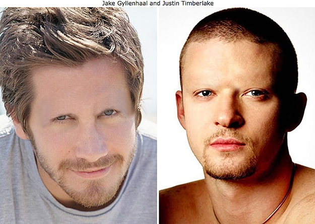 Justin Timberlake With No Eyebrows