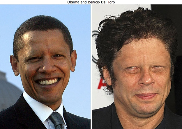 President Obama With No Eyebrows