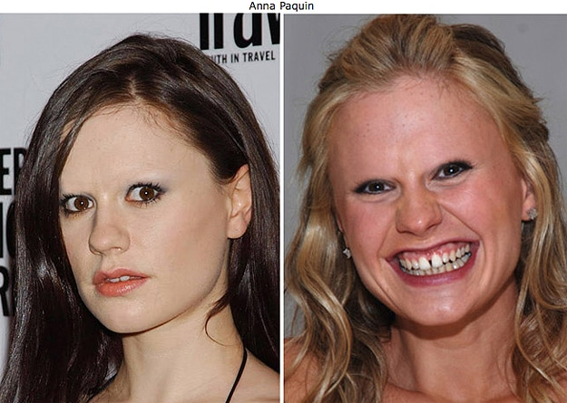 Scary Face With No Eyebrows