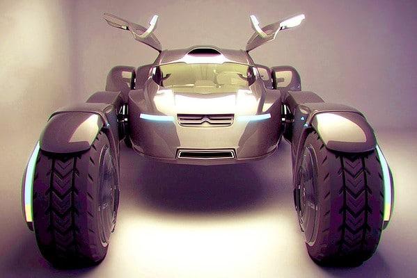 Citroen Taranis Concept Car Design
