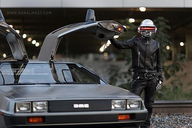 The Pimped Out Futuristic Daft Punk Helmet Version 2.0