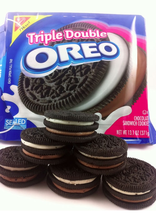 Fried Chocolate Triple Double Oreos