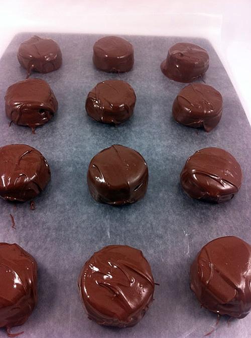 Fried Chocolate Triple Double Oreos
