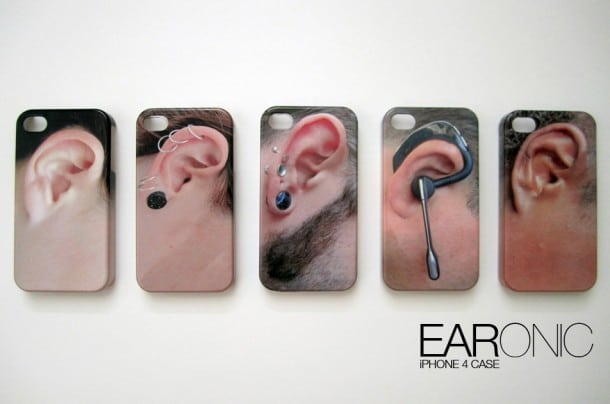 EarOnic iPhone 4 Stealth Case