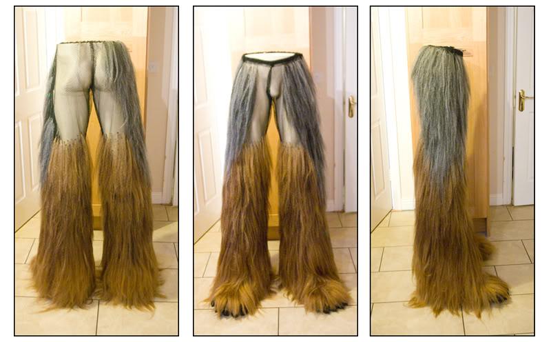 Fan Created Chewbacca Cosplay Costume