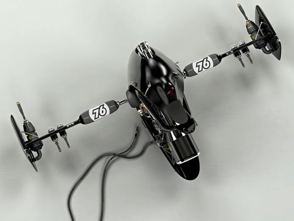 Gladiators Bike Concept Tech Design