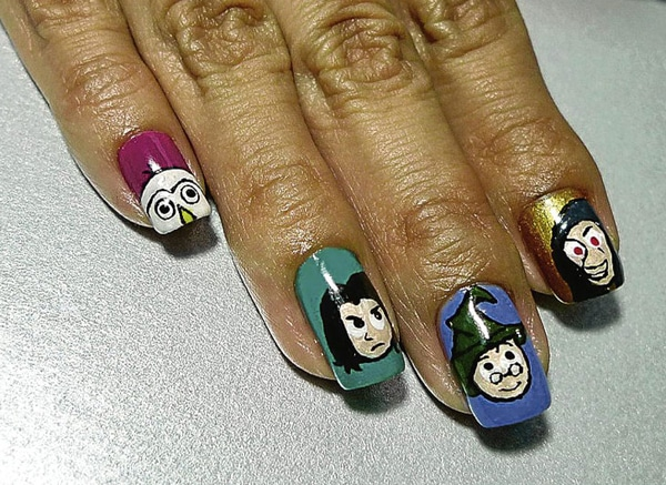 Manicure Nail Polish Harry Potter