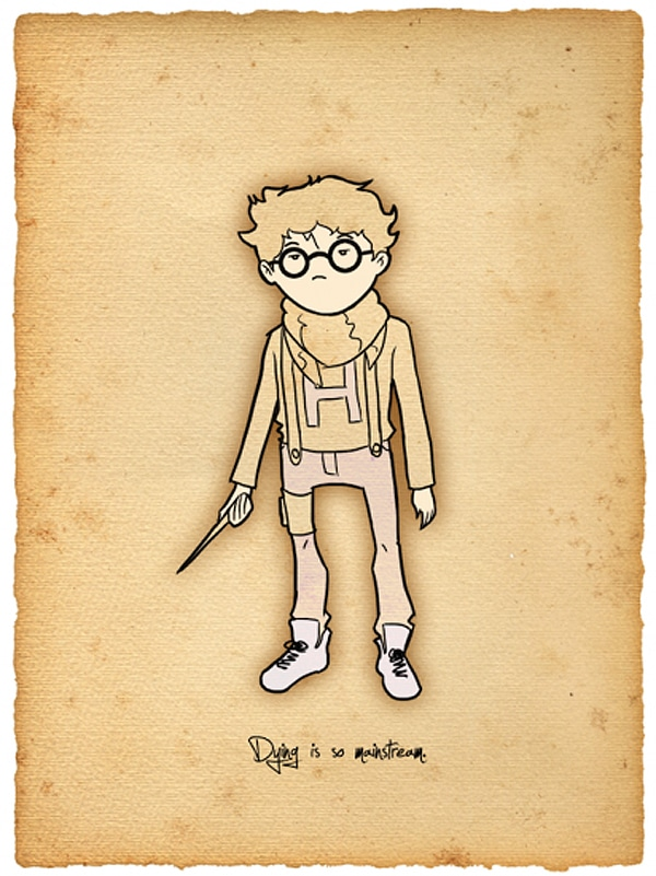 Creative Deviantart Harry Potter Designs