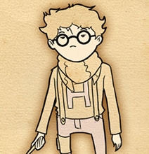 Design Inspiration: Hipster Harry Potter Illustrations