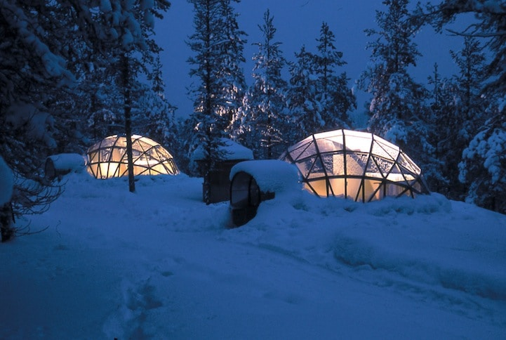 Igloo Snow Hotel In Finland