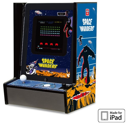 InvaderCade: An iPad Enabled Home Arcade Cabinet