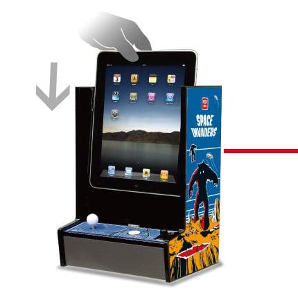 InvaderCade Arcade Cabinet iPad Accessory