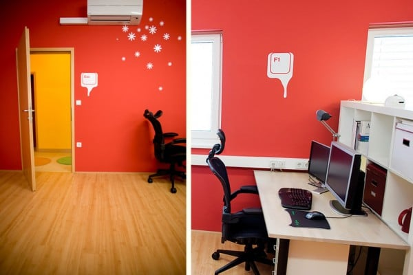 Keyboard Character Office Design Uses