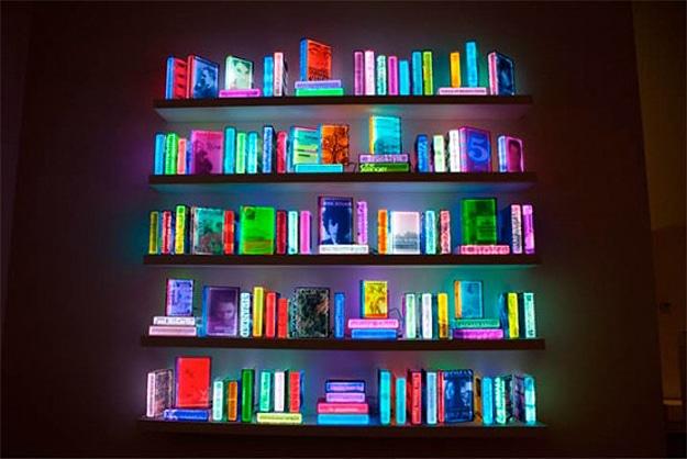 Digital Library Futuristic Books