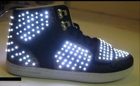 LED Sneakers By Creative Recreation