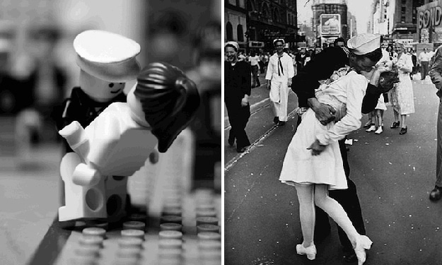 Famous Photographs Recreated In Lego