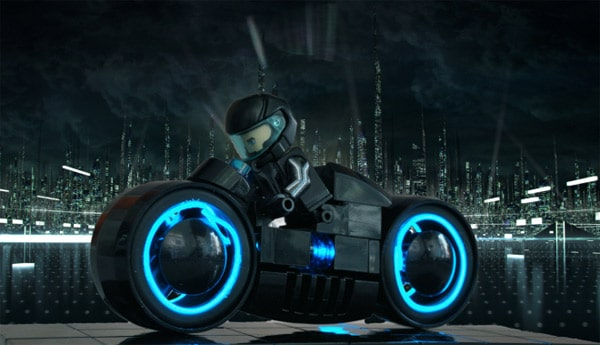 Lego Tron Bike: Enter The Age Of The Light Cycle