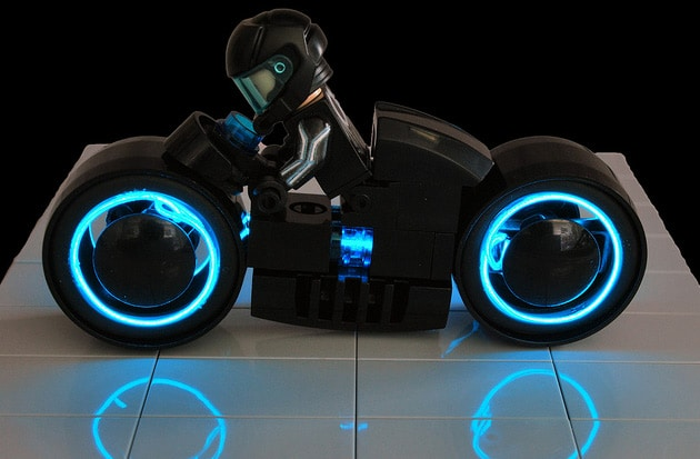 Lego Tron Wire Light Cycle