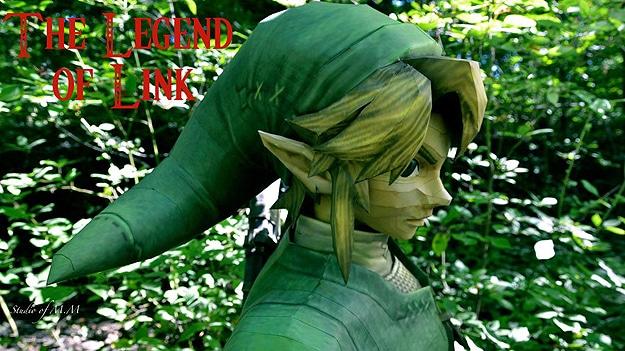 Lifesize Papercraft Origami Link Zelda