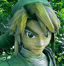 Whoa! A Life-Size Papercraft Link From Legend Of Zelda
