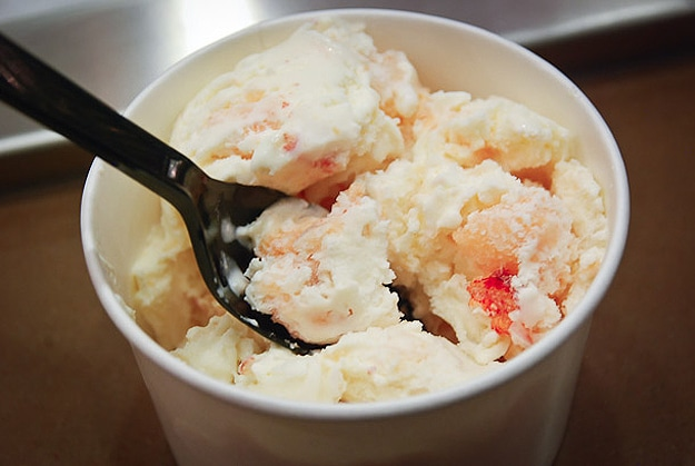Seafood Mixed Into Icecream