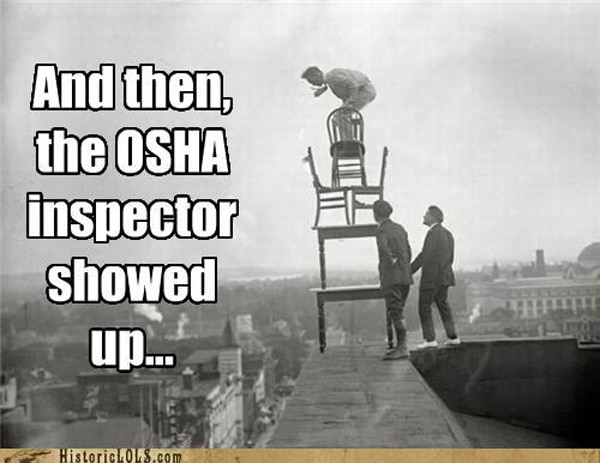 OSHA Violations Photo Gallery