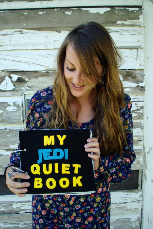My Jedi Quiet Book: A Star Wars Embroidered Storybook