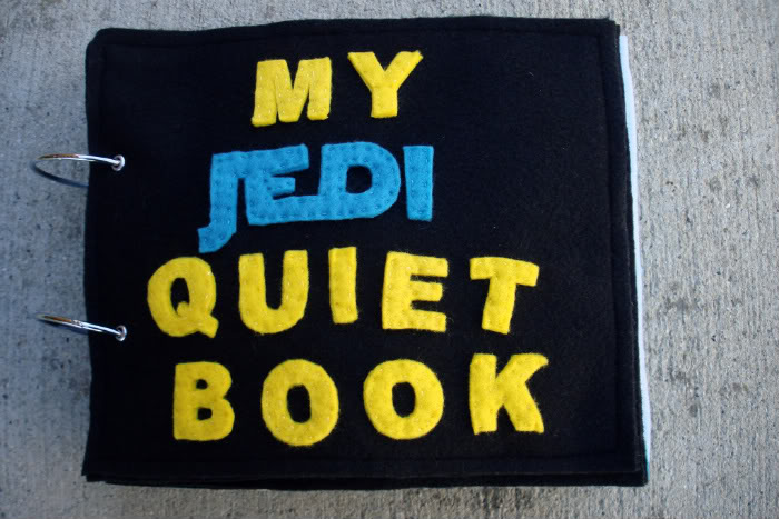 My Jedi Quiet Book Project
