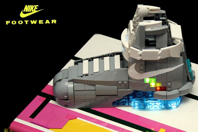 Nike Air Mags Lego Build