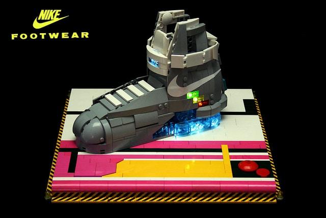 Nike Air Mags Lego Build