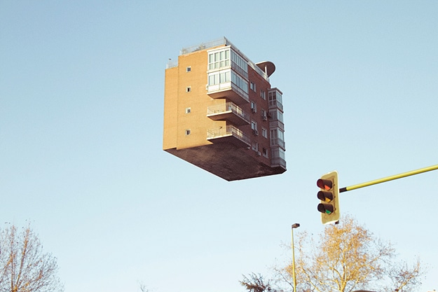 Floating Houses Disturbing Photography