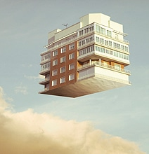 Floating Houses: Levitation Photography Gets Spooky