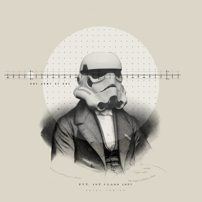 Old Timey Star Wars Illustrations