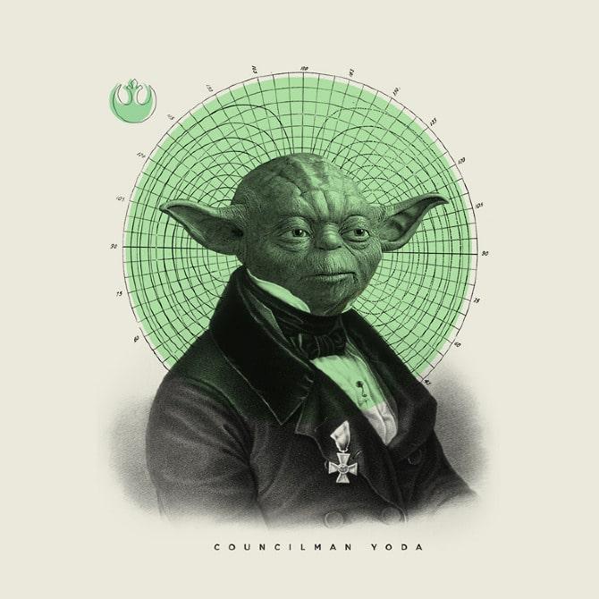 Old Timey Star Wars Illustrations