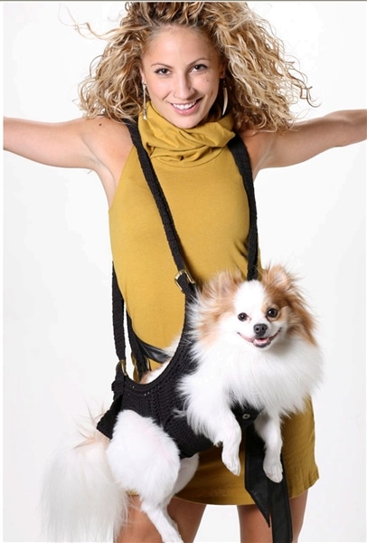Pupoose Sling Carrier For Dogs