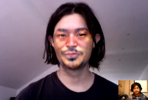 Real-Time Face Substitution Will Make Video Conferencing Creepy
