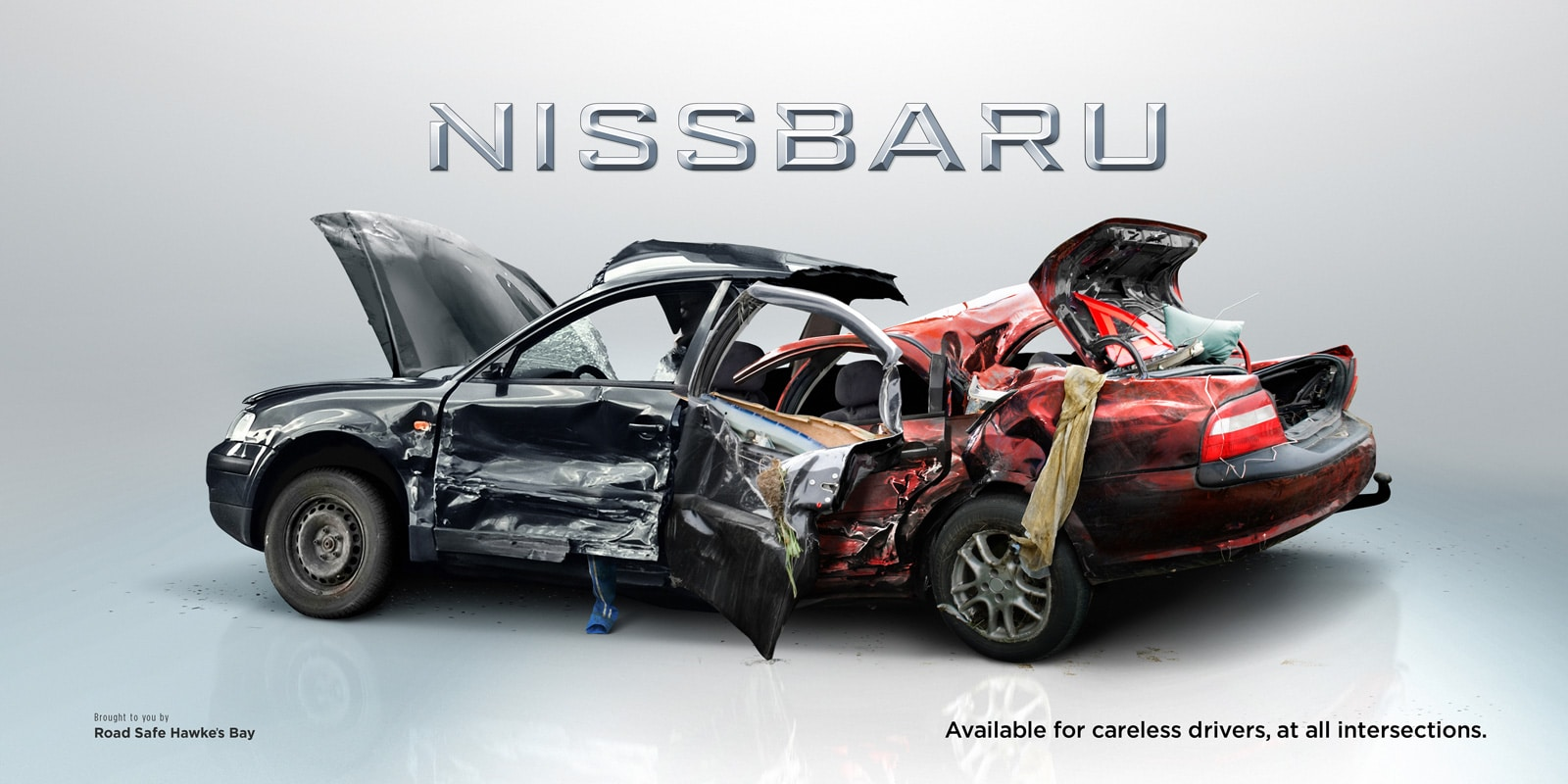 Nissbaru Amp Toyazda Clever Road Safety Advertisement Bit
