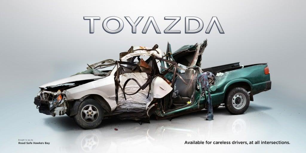 Road Safety Ad Campaign Design