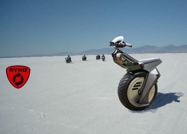 Ryno Mono Wheel Motorcycle Design