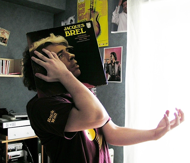 Album Covers On Faces Sleevefaces