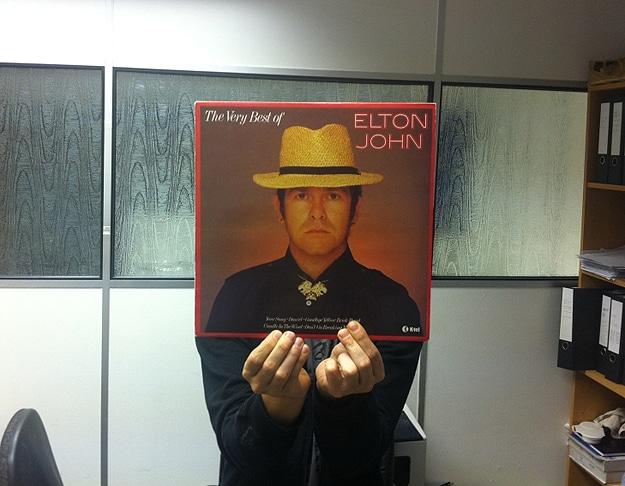 Elton John Album Faces