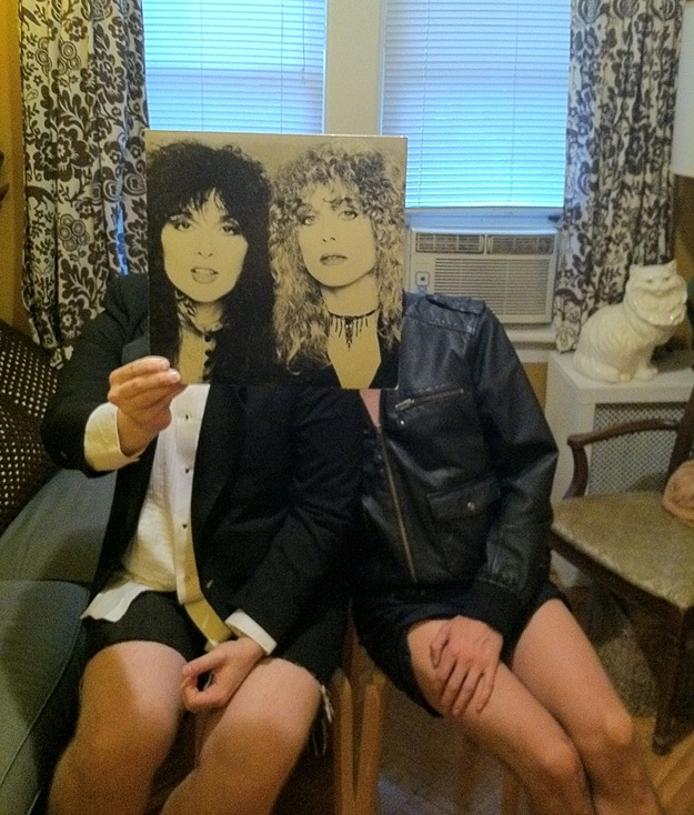 Heart Sleeveface Record Cover