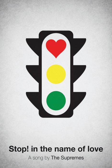 Pictogram Song Posters: A Picture Is All It Takes [12 Pics]