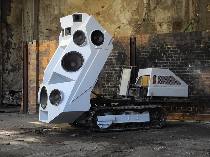 Sound Tank Dj Machine Build