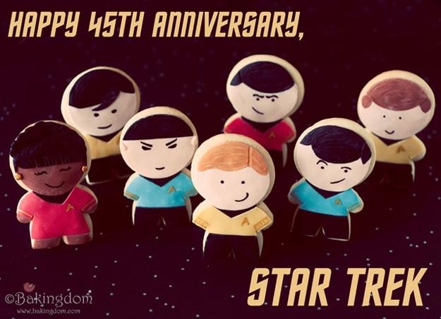 Live Long & Prosper With Star Trek Sugar Cookies