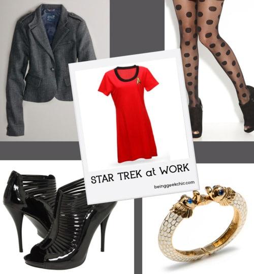 Think Geek Star Trek Uniform