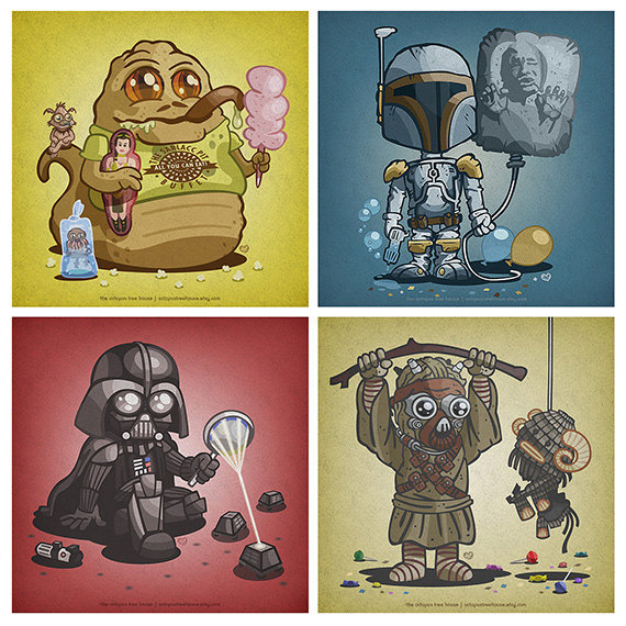 When They Were Young: Baby Star Wars Characters