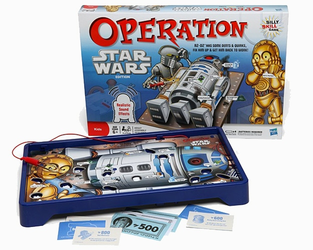 Star Wars Operation Game: Help C-3PO Operate On R2-D2