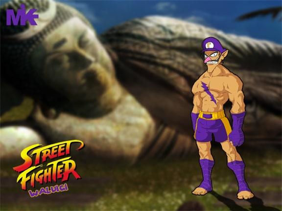 Street Fighter Super Mario Mashup